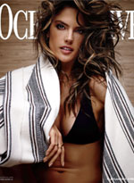 Alessandra Ambrosio wearing the Belize Top and Miyako Bottoms in Beach