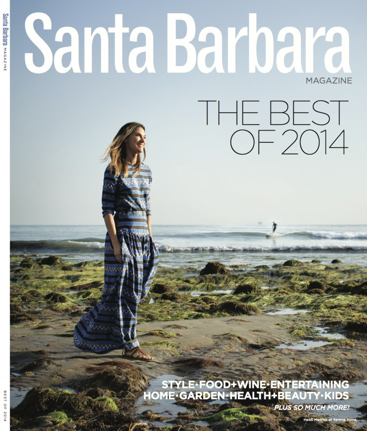 Santa Barbara Magazine- Best of 2014 Cover